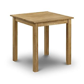 Cox Solid Oak Square Dining Kitchen Table