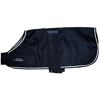 Outhwaites Polyester Unlined Coat Black 25cm (10