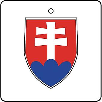 Slovakia Coat Of Arms Car Air Freshener