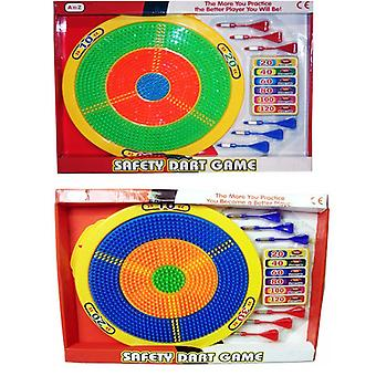 Safety Dart Board Kids Toy made from Plastic Includes Darts