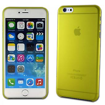Hardcase glossy ultra thin 0.3 mm yellow for Apple iPhone 6 plus 5.5