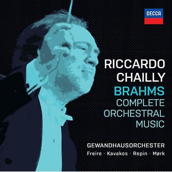 Brahms: Complete Orchestral Works by Riccardo Chailly