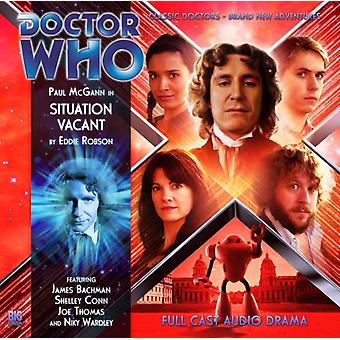 Situation Vacant (Doctor Who: the Eighth Doctor Adventures) (Audio CD) by Barnes Alan