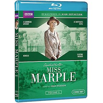 Miss Marple: Volume Three [BLU-RAY] USA import