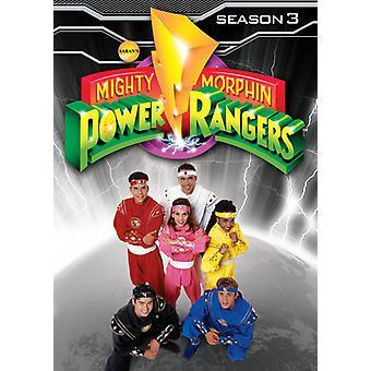 Mighty Morphin Power Rangers: Season 3 [DVD] USA import
