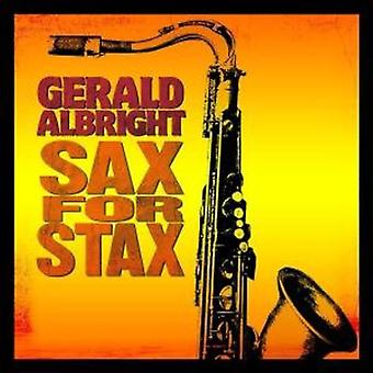 Gerald Albright - Sax til Stax [CD] USA import