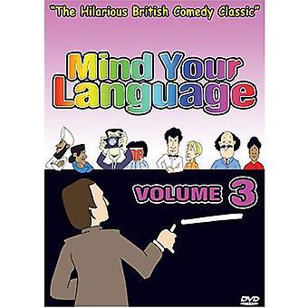 Mind dine sprog: Vol. 3 [DVD] USA importerer