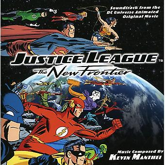 Forskellige kunstnere - Justice League: The New Frontier [Original Soundtrack] [CD] USA import