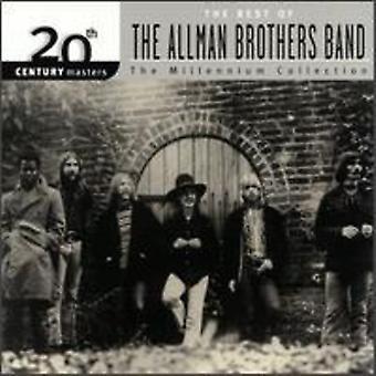 Allman Brothers Band - Millennium samling-20th århundrede skibsførere [CD] USA importerer