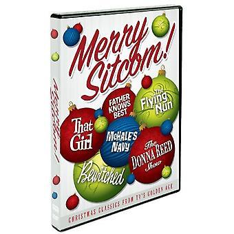 Merry Sitcom! Christmas Classics From TV's Golden [DVD] USA import