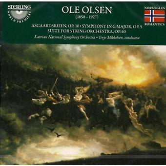 O. Olsen - Ole Olsen: Asgaardsreien; Symfoni i G-dur; Suite for strygeorkester [CD] USA import