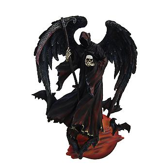 Reaper of the Night Highly Detailed Angel of Death Wall Sculpture