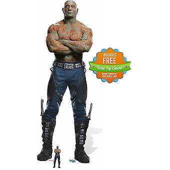 Drax The Destroyer Guardians of The Galaxy Vol. 2 Cardboard Cutout / Standee