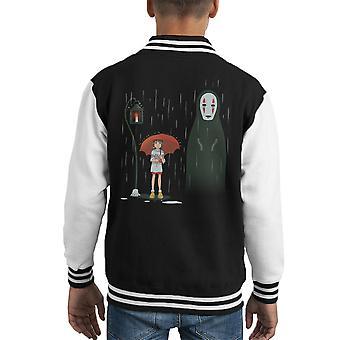 Spirited Lampstop Spirited Away Kid's Varsity Jacket