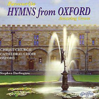Christ Church Cathedral kor Oxford - favorit salmer fra Oxford: Amazing Grace [CD] USA import