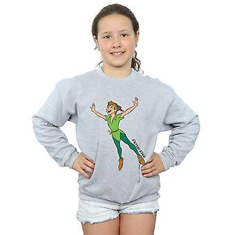 Disney Girls Peter Pan Classic Flying Peter Sweatshirt