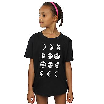 Disney Girls Nightmare Before Christmas Jack Moon T-Shirt