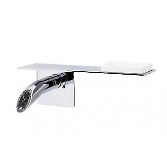 Galindo Onlyone sink faucet wall with shelf 360 mm (Casa , Bagno , Lavabi , Lavandino)