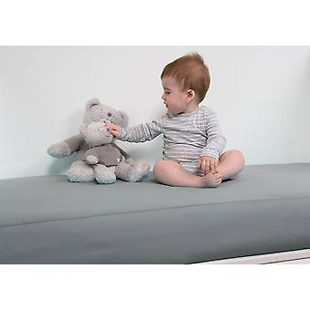 B-sensible BSensible Baby Waterproof breathable fitted crib sheet 60x120 Grey