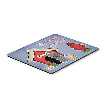 Dog House Collection Glen of Imal Grey Mouse Pad, Hot Pad or Trivet