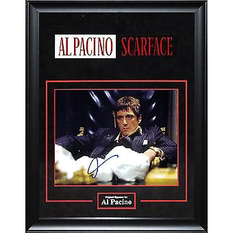 Scarface - Signed by Al Pacino - Framed Artist Series