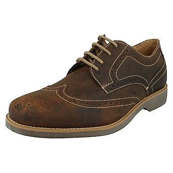 Mens Anatomic Smart Brogue Detailed Shoes Tucano