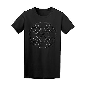 Sacred Geometry Circle With Tee Men's -Image by Shutterstock