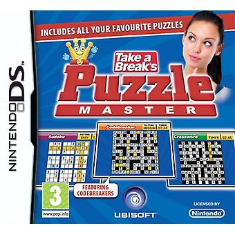 Take A Breaks Puzzle Master (Nintendo DS) - Factory Sealed