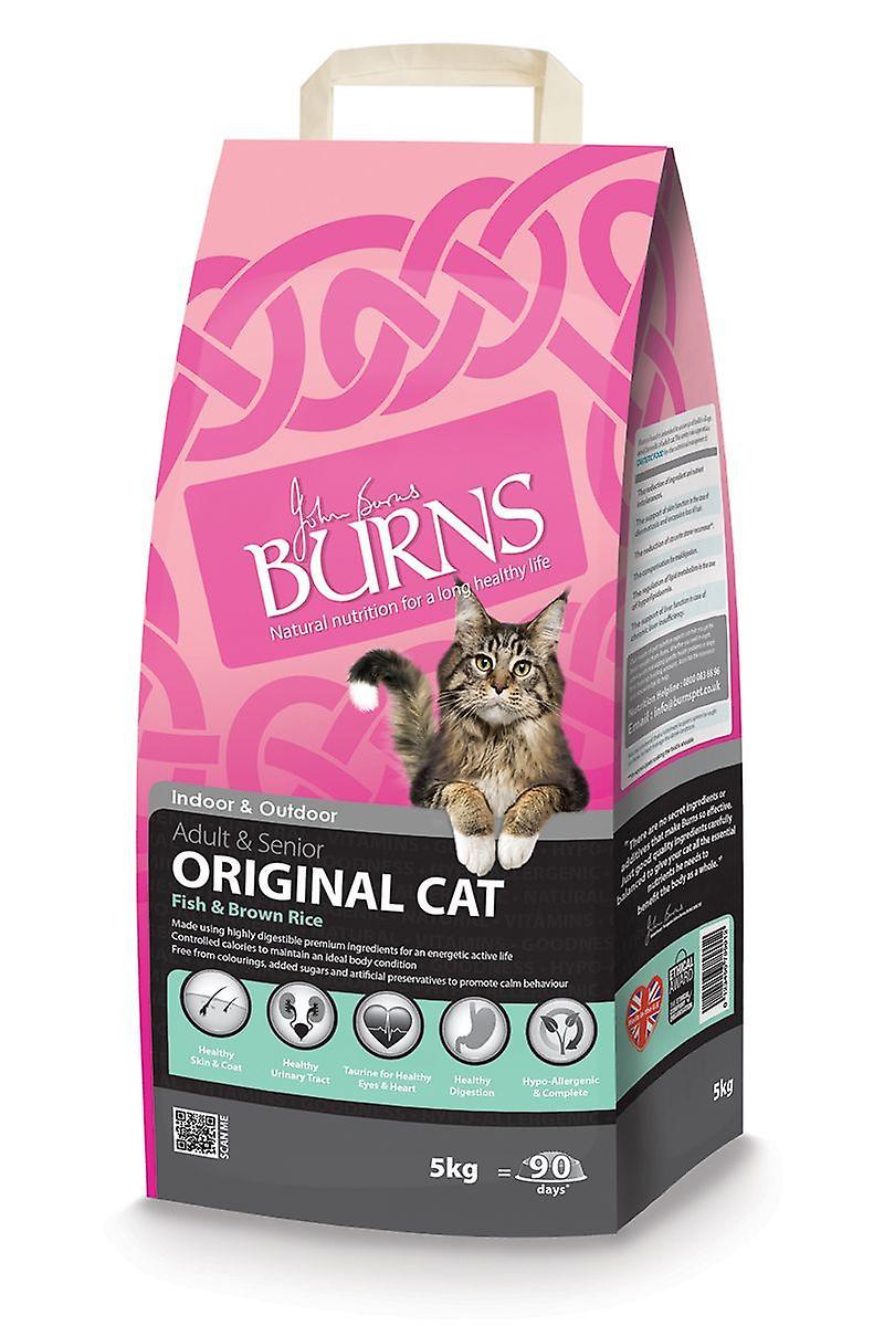 Burn's Original Fish & Rice Cat Food - 2kg