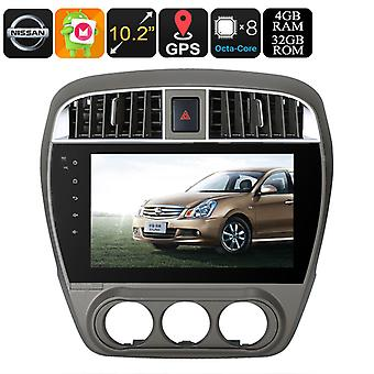 Un DIN Android Nissan Media Player