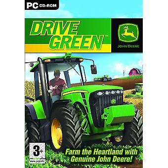 جون دير بالسيارة الخضراء لعبة كمبيوتر