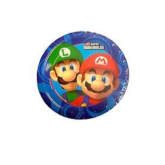 Placas de Super Mario Hermanos de papel