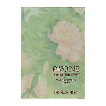 Yves Rocher Pivoine Eau De Toilette Spray 2.02Oz/60ml In Box