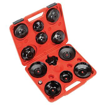 Sealey Vs7004 Oil Filter Cap Wrench Set 13Pc - Euro Vehicles