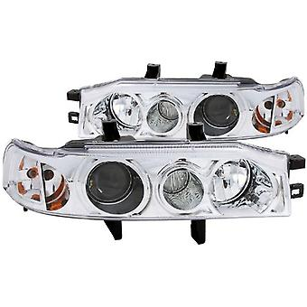 Anzo USA 121049 Honda Accord Projector 1Pc with Halo Chrome Headlight Assembly - (Sold in Pairs)
