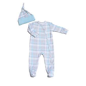 Everly grijs Baby grijs Baby Footie & Hat Set