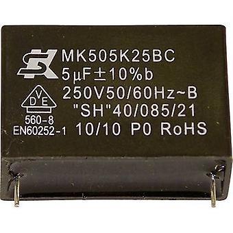 Seika MK450K474 1 pc(s) MKP thin film capacitor Radial lead 0.47 µF 450 V 10 % 27.5 mm (Ø x H) 20 mm x 11 mm