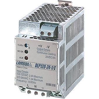 TDK-Lambda DLP-120-24-1/E Rail mounted PSU (DIN) 24 Vdc 5 A 120 W 1 x