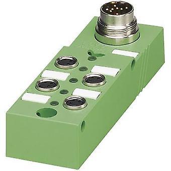 Sensor & actuator box (passive) M8 + steel thread SACB- 6/3-L-M16-M8 1516195 Phoenix Contact 1 pc(s)