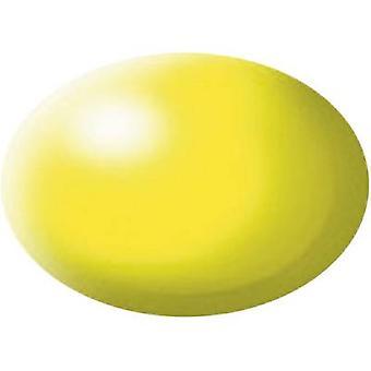 Aqua paint Revell Fluorescent yellow (semi-gloss) 312 Can