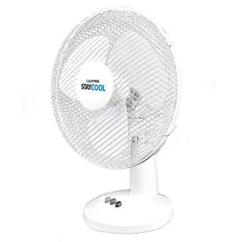 Lloytron Stay Cool Desk Fan 12-Zoll-40 W - weiß (F1011WH)