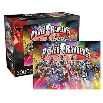 Power Rangers Giant 3000 Piece Jigsaw Puzzle 1150Mm X 820Mm
