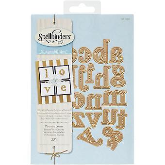Spellbinders Shapeabilities umiera Victorian alfabet