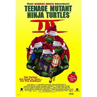 Tortugas de Ninja 3 Movie Poster (11 x 17)