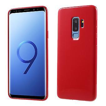 Samsung Galaxy S9 Plus TPU casos-rojo