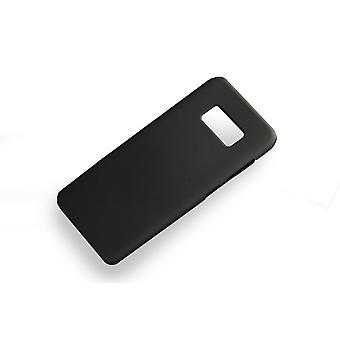 Pehmeä musta tapauksessa Samsung Galaxy S8