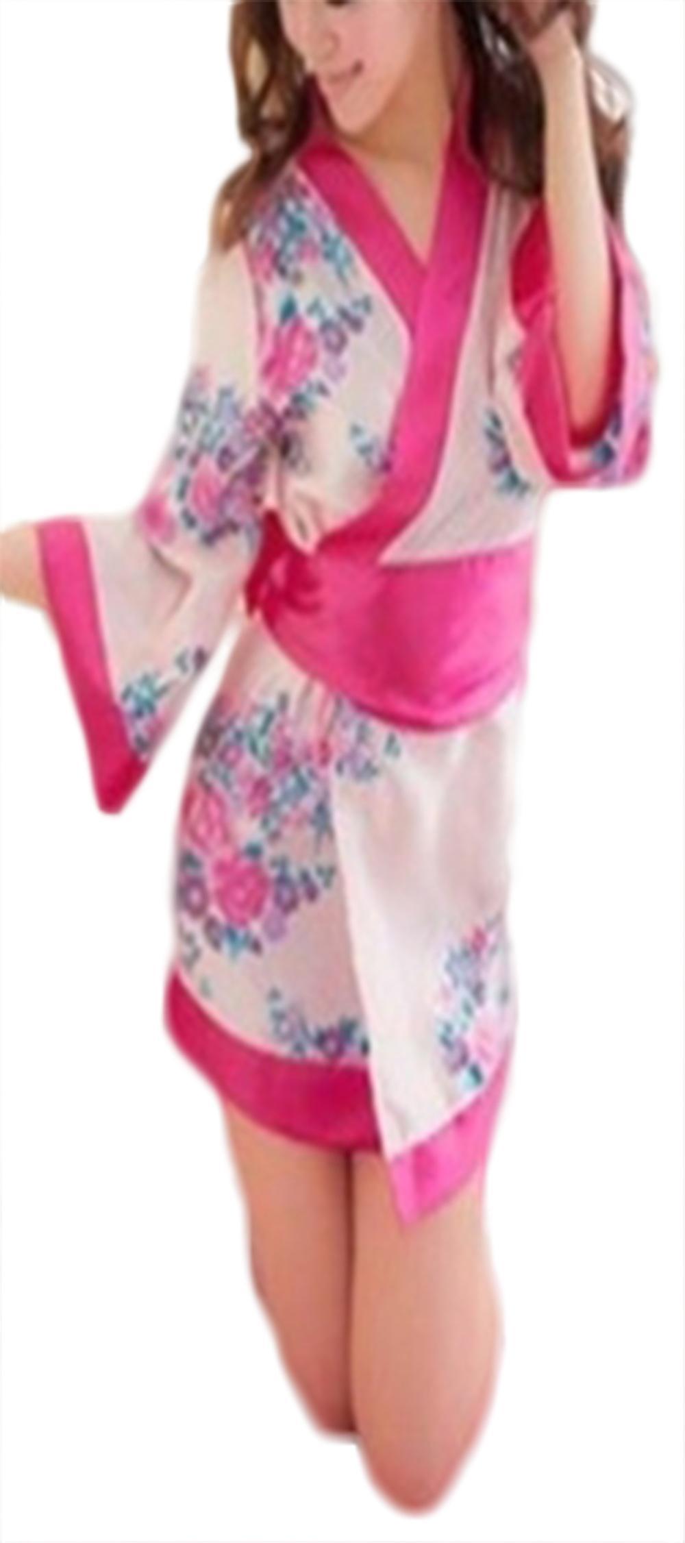 Waooh - Kimono Flowers Pattern Pauwau