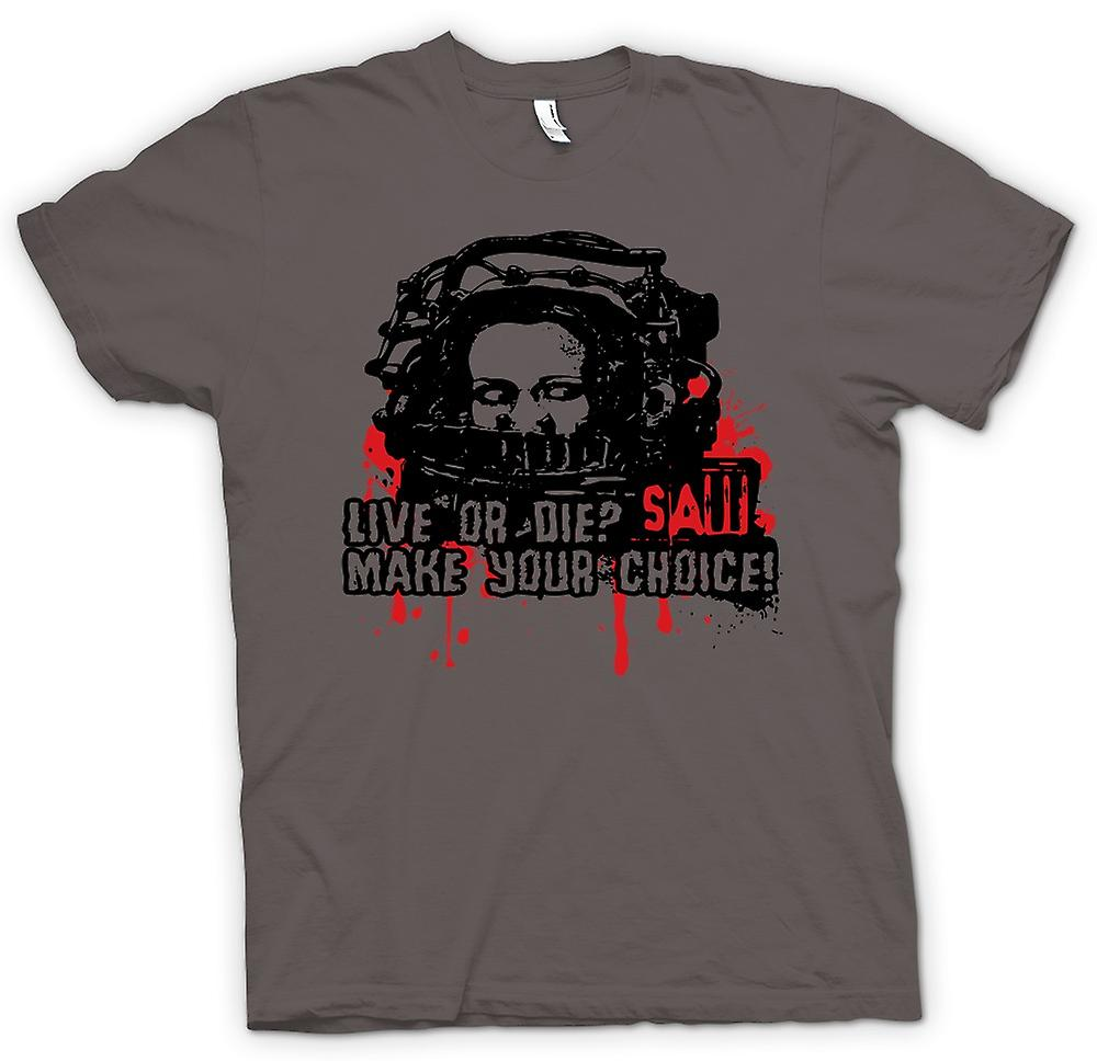 Womens T-shirt - Saw Live Or Die - Horror - Movie