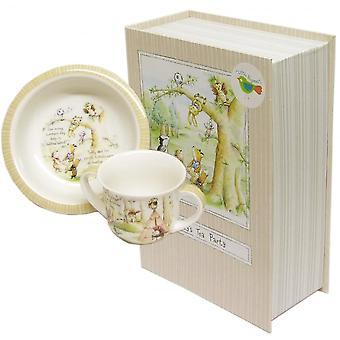 Churchill Plate Set TPIC00021 Teddies Picnic