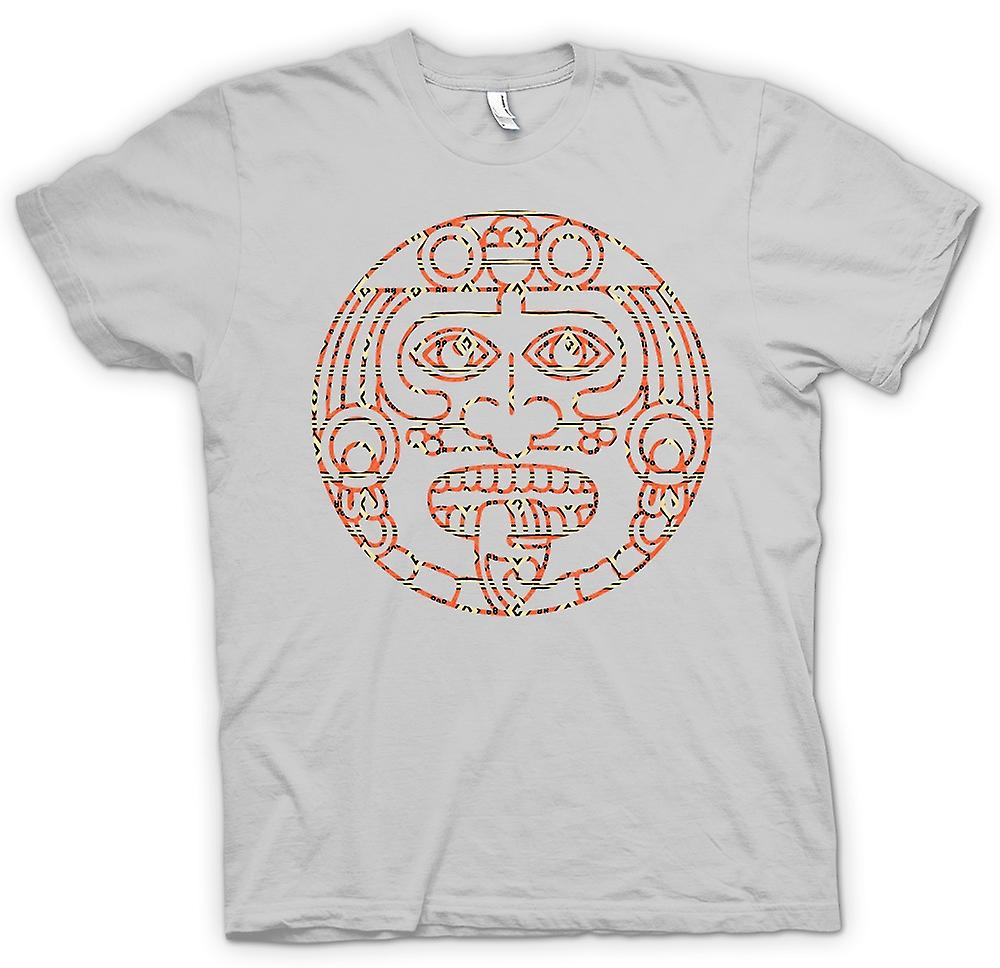 Hommes T-shirt - Aztec Tattoo Tribal Tongue